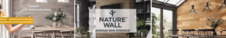 Bardage Bois Intérieur   Mur en Lambris Bois Intérieur Adhésif