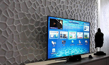 mur tv 3d