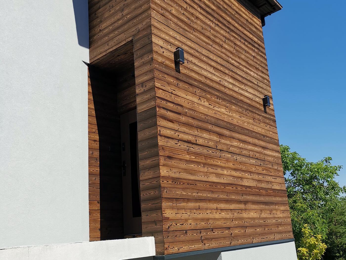 bardage bois extérieur horizontal