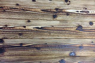 bois brulé brossé baltica