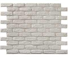 parement briques blanches