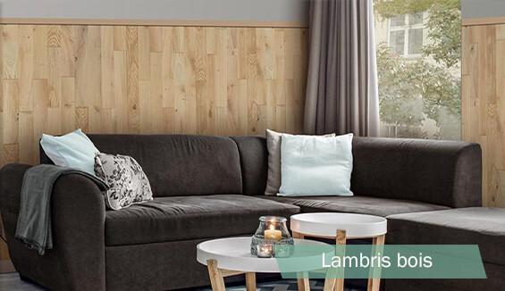 lambris bois mural