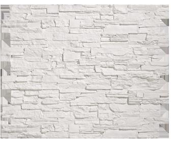parement en pierre blanche