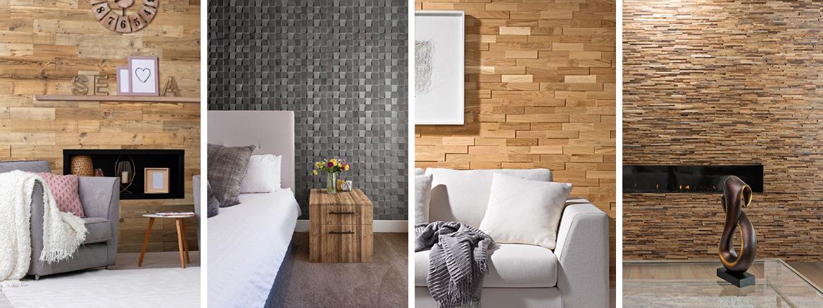 mur en bois décoratif