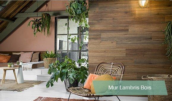 Mur Lambris Bois