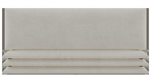 panneau simili daim beige