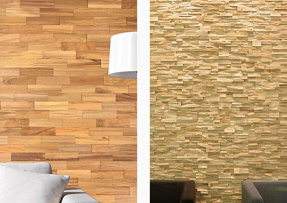 murs de bois