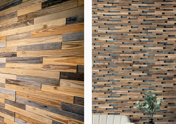 murs en bois