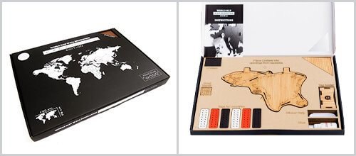 Packaging Carte du Monde Murale