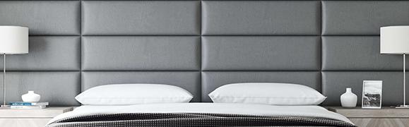 panneau décoratif tête de lit capitonnée
