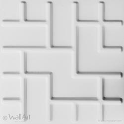 panneau mural 3d tetris wallart