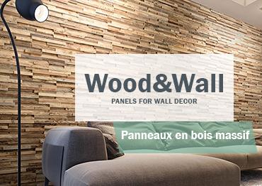 panneau mural bois wood wall