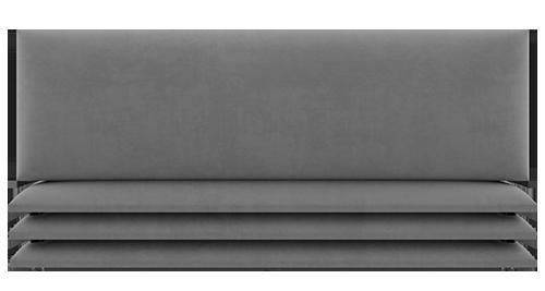 mur simili gris