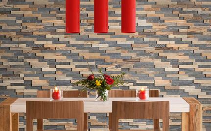parement bois mur intérieur