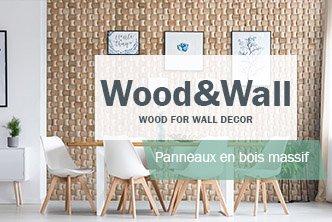panneau mural bois