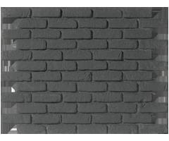 parement briques grises