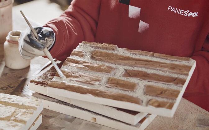 plaquette  de parement brique panespol
