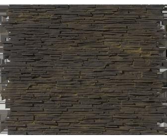 panneau de parement noir