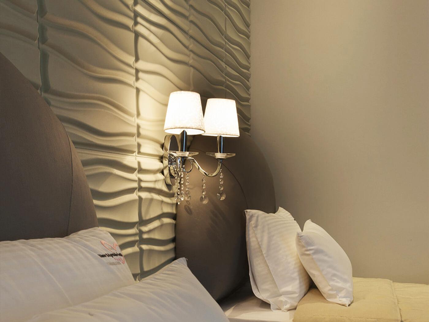 murs 3d tête de lit