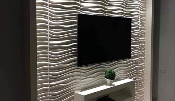 panneau tv wallart