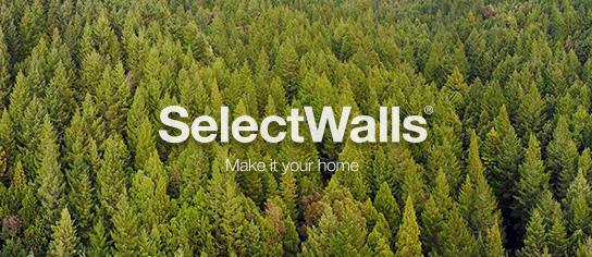selectwalls panneaux 3d en bois