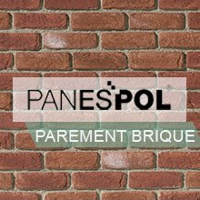 Parement mural Brique