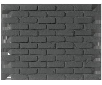 Parement mural gris