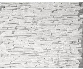 panneau de parement blanc