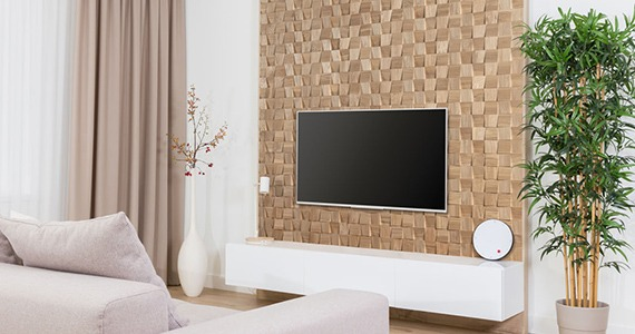 Idée déco salon : Nos panneaux muraux en MUR TV